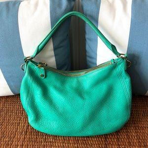 J. Crew Biennial Hobo Bag Leather Green